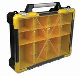 Opbergkoffer, gereedschapskoffer met losse bakjes , groot_