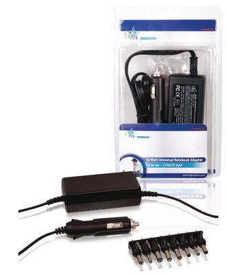 Notebook adapter, laptop aansluiting auto