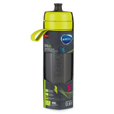 waterfilterfles fill&go Active lime