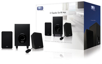 Sweex 2.1 speakerset 80 W