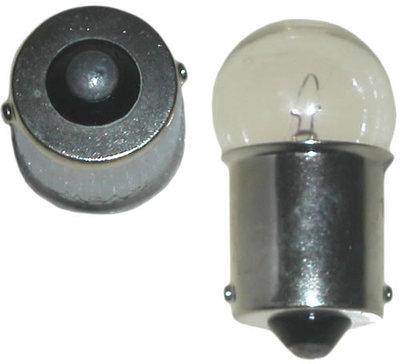 BA15s 12v 10w ,autolamp,remlicht bol, 2 stuks
