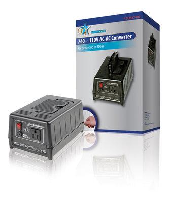 Spanningsomvormer 220 - 110 V 300 W