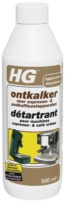 HG ontkalker voor espresso- & padkoffiezetapparaten