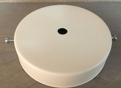 Plafondkap Stoere Zolderkap Metaal 95mmx25mm 1-Lichts Wit