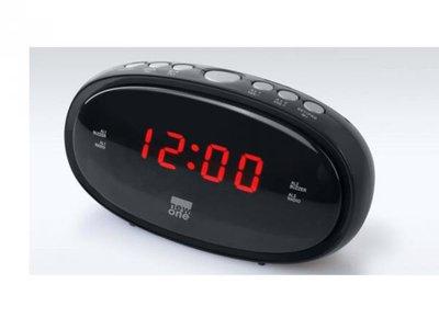Wekkerradio CR-100 PLL FM Dual Alarm