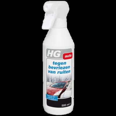HG tegen bevriezen van ruiten | antivries spray voor de ruiten van de auto
