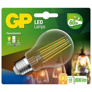 GP LED classic fila. FS 7W E27