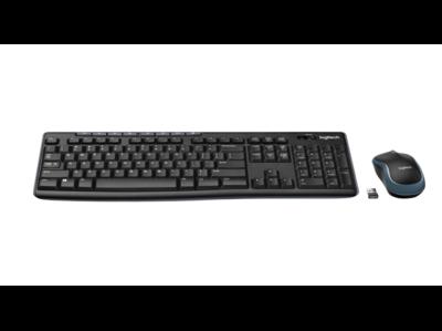 Logitech Wireless Combo MK270 Toetsenbord en muis set