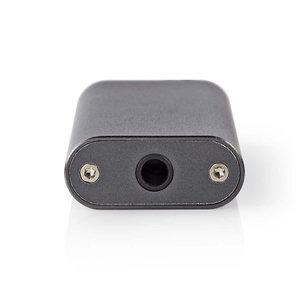 DAC Versterker | Voor Koptelefoons | SNR 95 dB | HDR 90 dB | Tot 24 Uur Speeltijd | Metaal