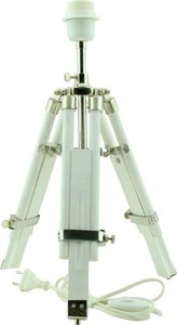 Light & Living Lampvoet driepoot MATISSE 37 x 33 x 47 - 60 cm - wit naturel